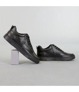 Zwarte Lederlook Classy Heren Schoenen