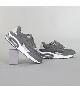 Grove Grijze Heren Sneakers met Lucht Zool