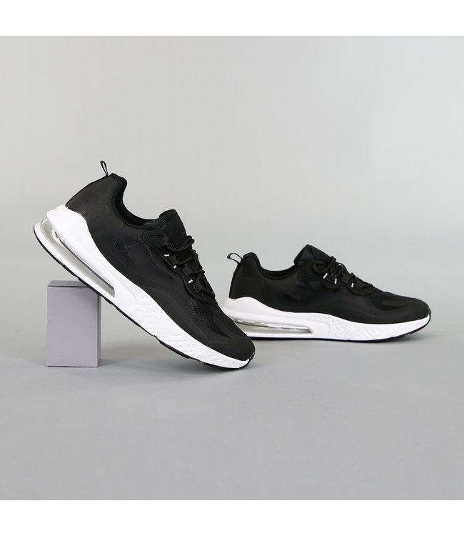 NEW! Sportieve Zwarte Heren Sneakers