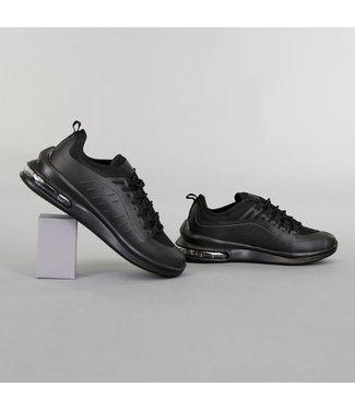 !OP=OP Basic Zwarte Heren Sneakers met Lucht Zool