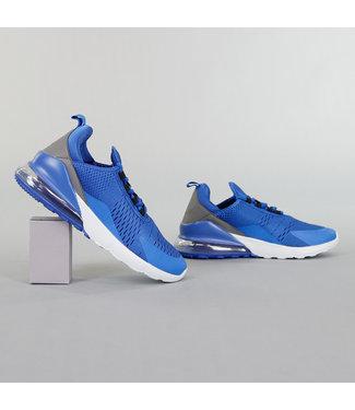 Blauwe Neopreen Heren Sneakers
