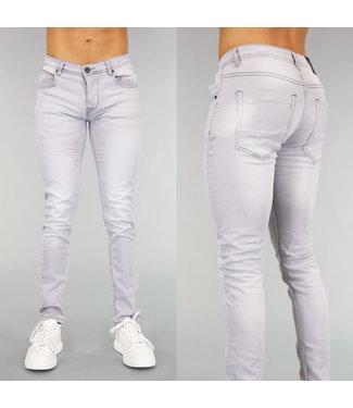 Grijze Skinny Heren Jeans