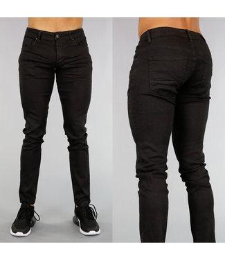 !OP=OP Zwarte Slim Fit Heren Jeans