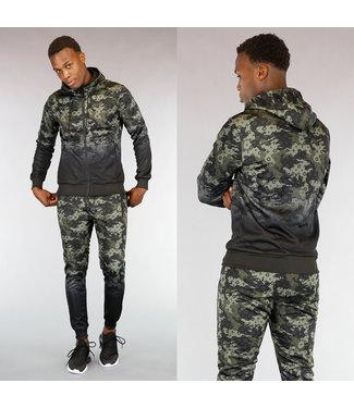 !OP=OP Heren Trainingspak met Camouflageprint