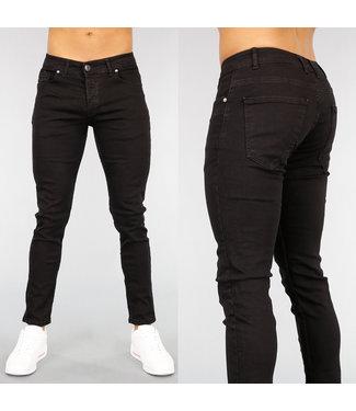 !OP=OP Zwarte Aansluitende Heren Jeans