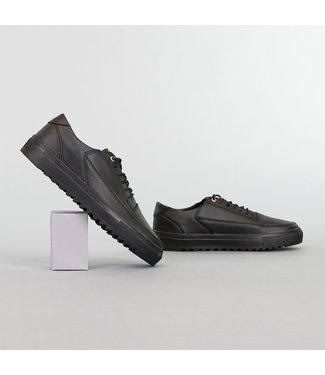 Nette Zwarte Lederlook Heren Schoenen