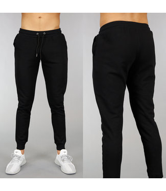 Basic Zwarte Heren Joggingbroek