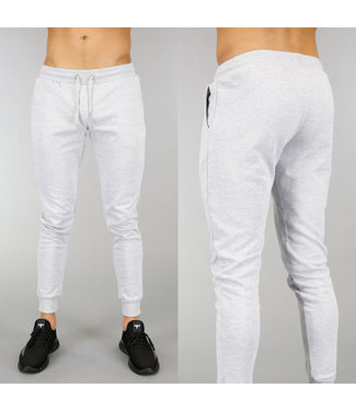 Basic Grijze Heren Joggingbroek