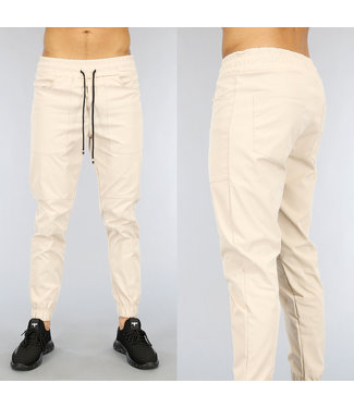 NEW1802 Nette Beige Heren Cargo Broek
