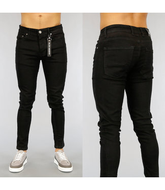 Basic Zwarte Heren Skinny Jeans