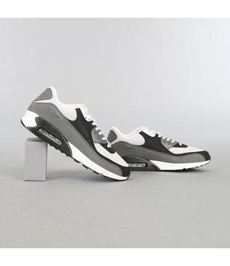 Grijs/Witte Heren Sneakers met Lucht Zool