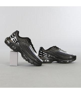 Zwart/Witte Grafische Heren Sneakers