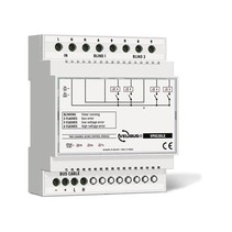 Velbus 2-channel roller shutter module for din rail