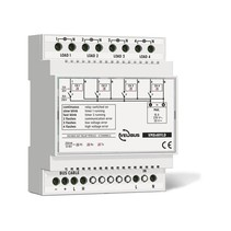 Velbus 4-channel relay with voltage outputs