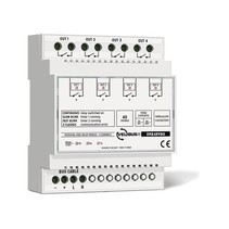 Velbus 4-channel relay, potential-free contacts