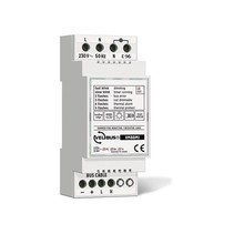 Velbus 1-channel dimmer for res. and induc. Last