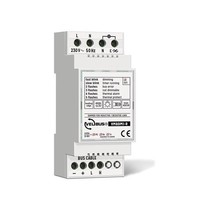 Velbus 1-channel triac dimmer, halogen and LED lamp