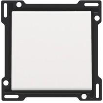 afwerkingsset, white steel, enkele toets, 154-61105