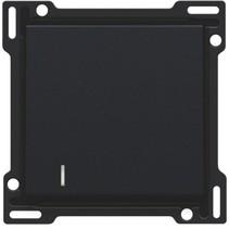 afwerkingsset met lens,zwart, 161-60005