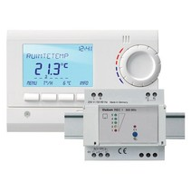 Wireless clock thermostat RAM833 Top2 HF