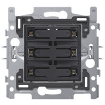 6-fold amber LED push button - 170-60150