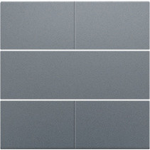 Afwerkingsset, Alu Look Grey Steel, 220-40050