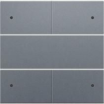 Afwerkingsset, Alu Look Grey Steel, 220-40150
