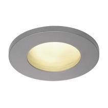 Outdoor recessed spot, GU10, silver gray, SLV111024