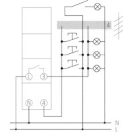 theben elektromechanische trappenhuisautomaat elpa 8 my. Black Bedroom Furniture Sets. Home Design Ideas