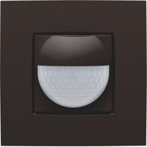 Home control motion detector, color brown