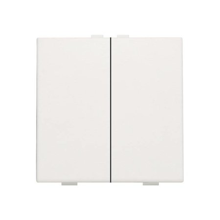 Niko Double push button for Niko Home Control, White