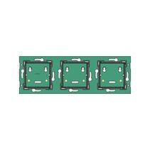 Drievoudige, muurprint horizontaal, centerafstand 71mm
