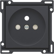 Afwerkingsset voor standaard stopcontact, antraciet