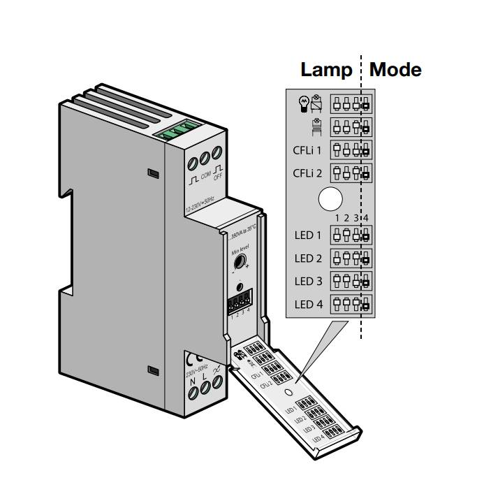 niko modulaire led dimmer 5 350 watt 330 00700
