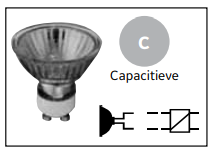 capacitieve lampen