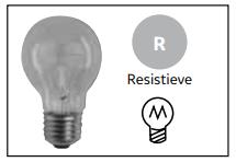 Resistieve lampen