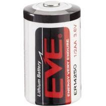 ER14250 battery 1/2 AA Lithium 3.6 V 1200 mAh