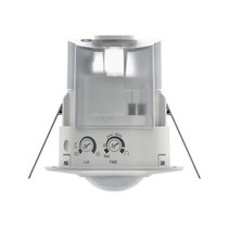 Built-in motion detector LUXA 103-100CDE white