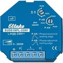 Universal LED dimmer EUD61NPL-230V