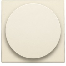 Central plate, cream, universal dimmer