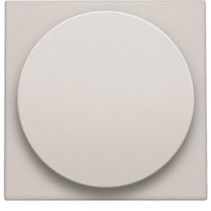 Central plate, gray, universal dimmer