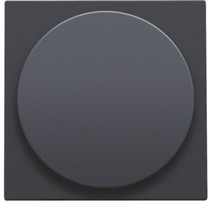 Central plate, Athracite, universal dimmer