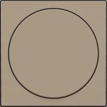 Centraalplaat, Bronze, universele dimmer
