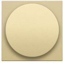 Central plate, Gold, universal dimmer