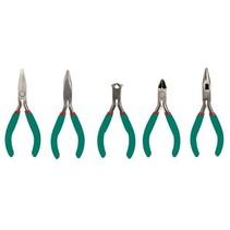 Set of 5 precision pliers