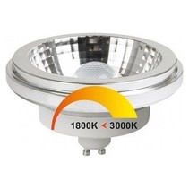 LED AR111-GU10 lamp, dimmable warm white, M09438