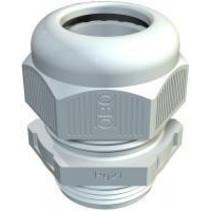 Wartel PVC M20 grijs