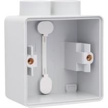 Enkelvoudige doos met kabelinvoer 2 x M20 700-84102