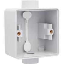 Enkelvoudige doos met kabelinvoer 2 x M20 - Niko 700-84111