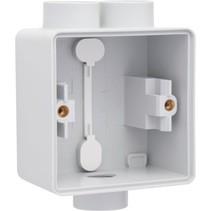 Enkelvoudige doos met kabelinvoer 2+1 x M20 700-84112